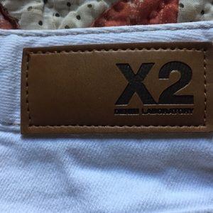 White jeans X2 denim laboratory